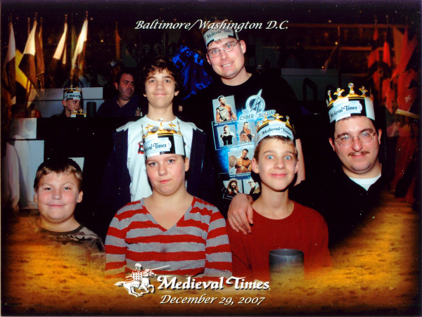 Photo from Medieval Times visit